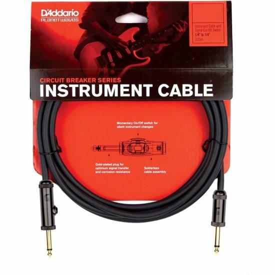 Кабель инструментальный D'Addario PW-AG-10 Circuit Breaker Instrument Cable 3.0m (10ft)