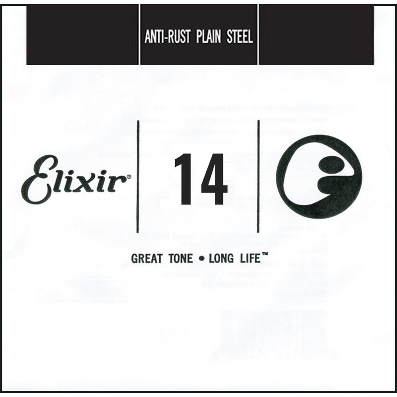 Струна Elixir 13014 Anti-Rust Plain Steel .014