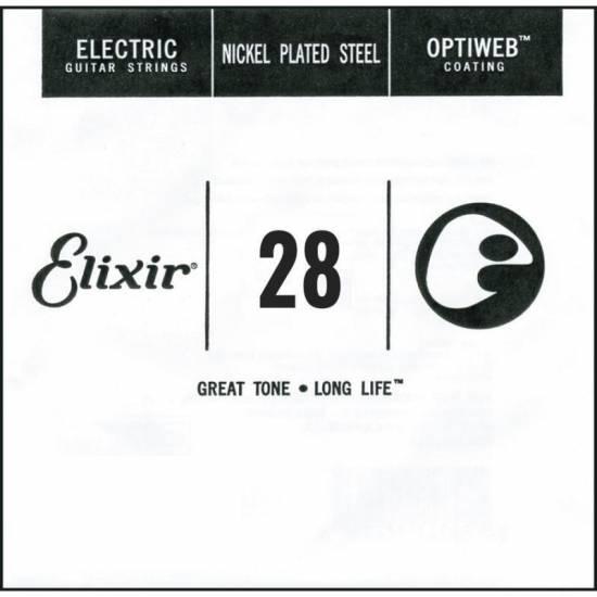 Струна Elixir 16228 Optiweb Nickel Plated Steel Electric .028