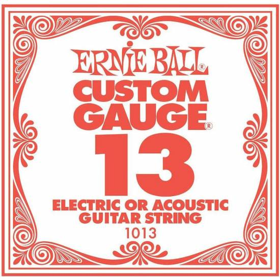 Струна Ernie Ball 1013 Plain Steel .013