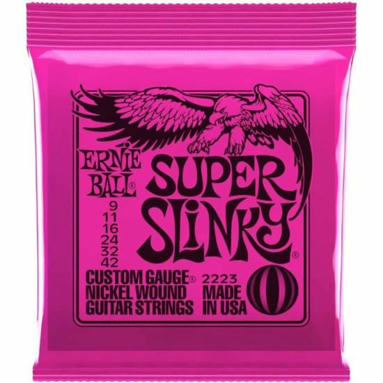 Струны для электрогитары Ernie Ball 2223 Super Slinky Nickel Wound 9/42