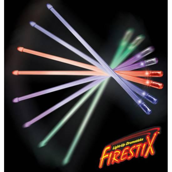 Барабанные палочки Firestix FX12PR Purple Haze Light-Up Drumsticks